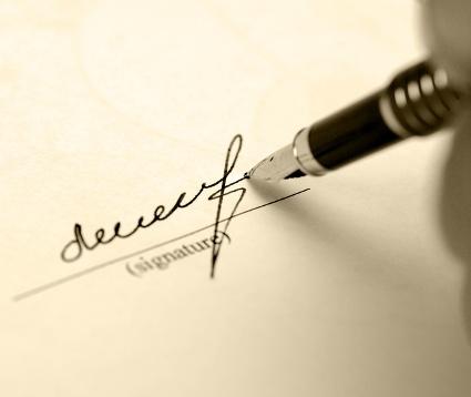 اصالت امضاء